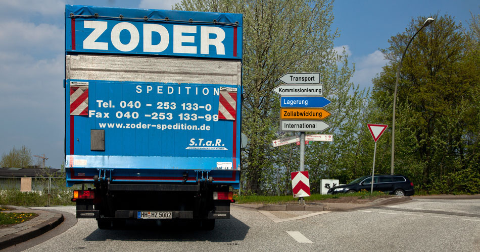 Logistik Hamburg - Heinrich Zoder Spedition GmbH